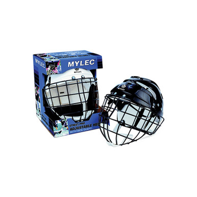 Helmet With Wire Face Cage