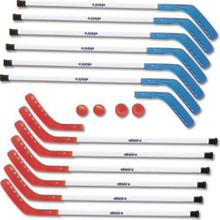 Repl Blades for Shield Indoor Sticks Red/Blue