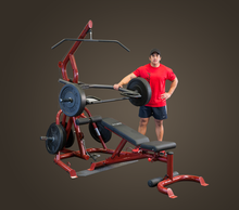 Corner Leverage Gym Package, Includes GFID100 Bench