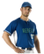ALLESON ADULT 2 BUTTON BASEBALL JERSEY