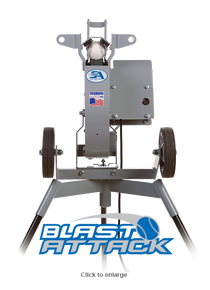 Pro Blast Attack Pitching Machine