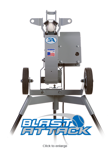 Blast Attack Pitching Machine