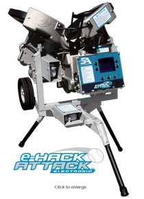 e-Hack Attack Softball Pitching Machine