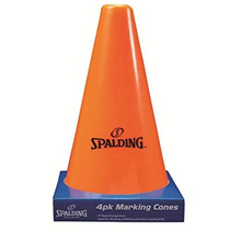Spalding 4 Pack Orange Cones 9""