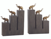 Elephant Bookends (Set of 2) - 19979