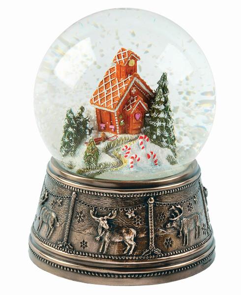 Gingerbread House Snow Globe - MM031