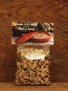 Wild Rice Leftover Turkey Soup Mix