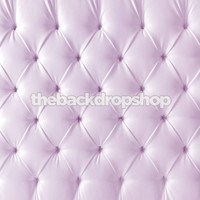 Upholstered Lavender Tufted Fabric Photography Backdrop – Light Purple Headboard Bed Fabric - Exclusive Design - Item 2102