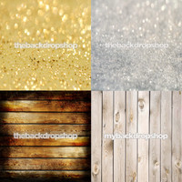 Four Pack Combo for Less - 4 Photography Backdrops - Items 1761, 1760, 1398 & 157 - As Seen or Mix and Match