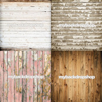Four Pack Combo for Less - 4 Photography Backdrops - Items 1754, 1598, 1796 & 1617 - As Seen or Mix and Match
