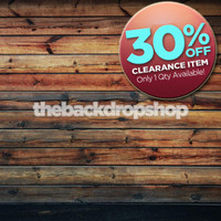 CLEARANCE - VINYL 4ft x 4ft Dark Wood Floor Backdrop - Wood Plank Photography Backdrop - Stained Wood Floor Drop - Item 384