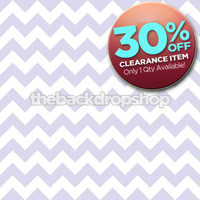 CLEARANCE - VINYL - 3ft x 3ft Light Blue and White Chevron Photo Backdrop - Chevron Pattern Photography Background - Item 1185