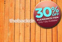 CLEARANCE - VINYL - 7ft x 5ft Orange Wood Floor Backdrop - Wood Plank Floor Drop - Item 247