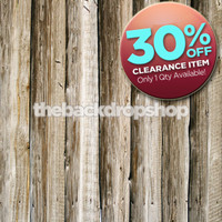 CLEARANCE - VINYL - 5ft x 5ft Rustic Wood Floor Plank Backdrop - Wood Photography Backdrop - Weathered Wood - Barn Wood - Item 212A