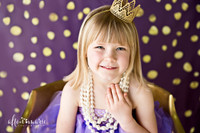Purple and Gold Backdrop, Gold Confetti Backdrop, Gold Glitter Backdrop, Purple Backdrop, Backdrop for Photos - Item 3108