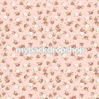 Baby Girl Infant Photography Prop - Rose Pink Photography Backdrop - Item 3158