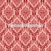 Pink and Red Damask Studio Prop - Item 196
