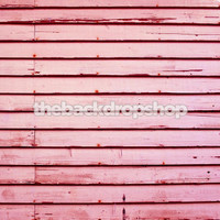 Pink Wood Siding Background - Photo Prop for Girls - Affordable Studio Backdrop - Item 220