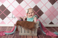 Little Girls Studio Backdrop - Item 226