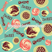 Fun Candy Backdrop for Kids - Item 265