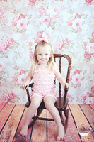 Shabby Chic Wallpaper Backdrop for Photography Shoots - Event Backdrop - Item 268
