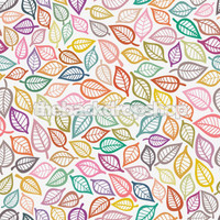 Colorful Leaf Photography Backdrop - Item 298