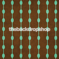 Modern Studio Backdrop for Photographers - Brown and Turquoise Photography Background - Item 339