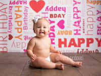 Birthday Theme Childrens Backdrop - Item 365