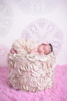 Pink Pastel Photo Background for Babies - Item 446
