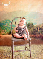 Mountain Backdrop for Photography - Scenic Background for Portraits - Outdoor Photoshoot Prop - Item 463
