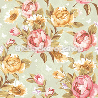 Shabby Chic Rose Backdrop for Maternity Photography - Item 591