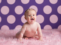 Purple Photographers Backdrop for Studio Photography - Baby Newborn Picture Prop - Kids Photo Drop - Item 606