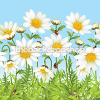 Flower Backdrop for Kids Photoshoots - Item 730