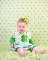 Spring Green Studio Photo Background for Children - Item 761