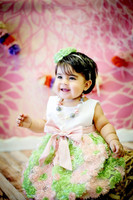 Baby Girl Photo Prop - Pink Flower Photography Backdrop - Item 783