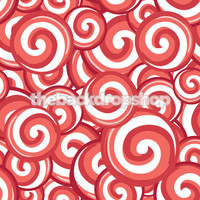 Candy Cane Peppermint Swirl Backdrop for Christmas  - Item 860