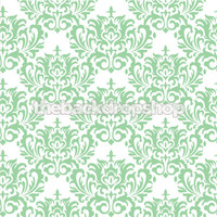 Mint Green Damask Wallpaper Newborn Photography Backdrop  - Item 870