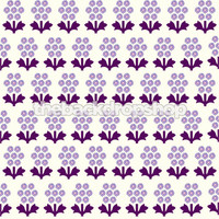 Purple Flower Photography Backdrop for Newborns - Item 954
