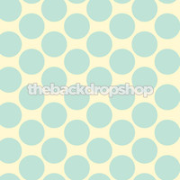 Blue and White Polka Dot Backdrop for Boys - Item 984