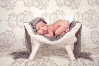 Ivory Backdrop for Photos  - Item 1011