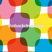 Colorful Retro Photography Backdrop - Item 1121