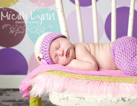 Pastel Dots Photography Backdrop - Item 1133