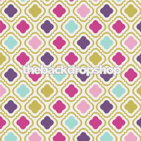 Girls Photography Backdrop - Purple and Pink Pattern Photo Background for Pictures - Item 1135