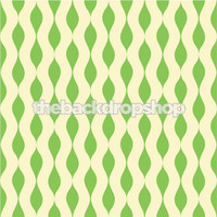 Green Retro Pattern Photography Backdrop  - Item 1235