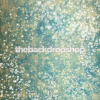 Sparkly Blue Photo Background - Prom or Holiday Photography Backdrop - Item 1241