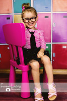 Colorful School Locker Photography Backdrop - Item 1443