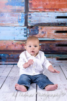 Stacked Painted Crates Photography Backdrop - Wood Crates Photo Background - Item 1447