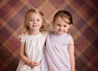 Old Fashioned Plaid Photography Backdrop  - Item 1496