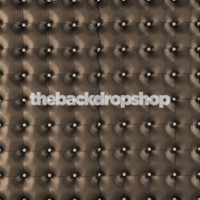 Black Upholstered Faux Leather Photography Backdrop -  Photo Back Drop - Item 1567