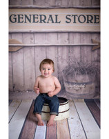 General Store Photography Backdrop - Old Time Antique Photo Backdrop - Item 1607